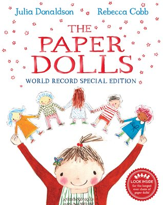 Book cover for The Paper Dolls World Record Edition